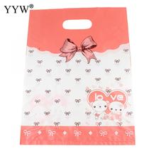 Rectangle 250x340x1mm cute plastic gift wrap bags 5pcs/lot jewelry packing wholesale hot selling