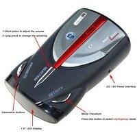 Hot! XRS 9880 Car Radar Detector Cobra Full 16 Band Russian & English Language Lacer Anti Radar Detector for Driving