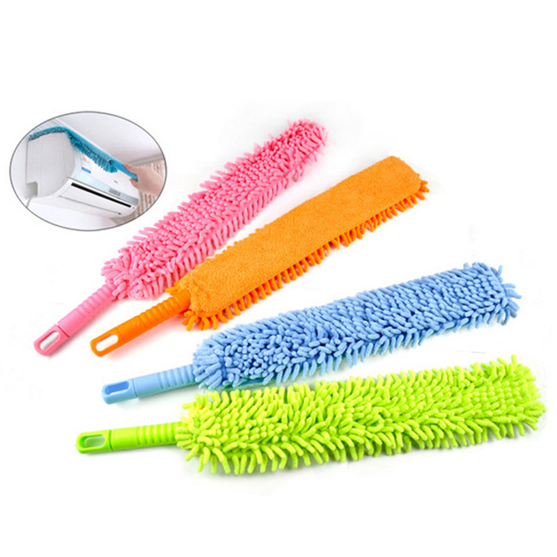 Flexible Soft Microfiber Cleaning Duster Magic Dust Cleaner Handle Home Entertaiment Tool