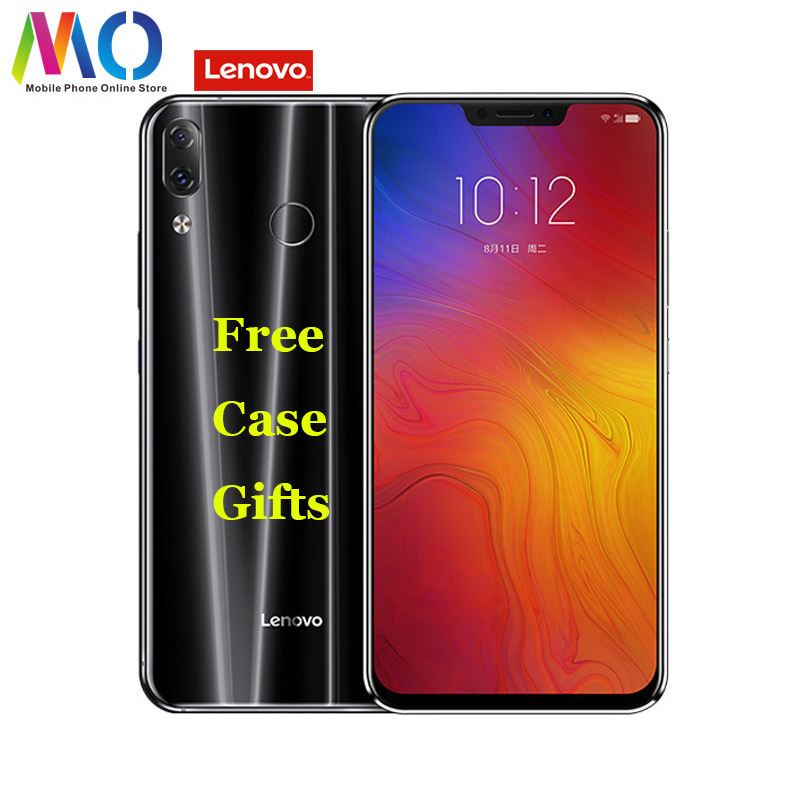"Lenovo Z5 Smartphone Android L78011 Celular Unlocked Mobile Phone 6.2"" Octa-core 6GB RAM Dual Camera 16MP Fingerprint Face ID"