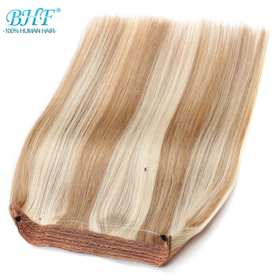 BHF Straight Machine Made Remy European Flip Human Hair All Colors In Stock 18