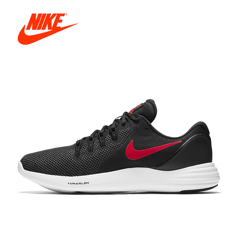 Original New Arrival NIKE LUNAR APPARENT Mens Breathable Running Shoes Sports Sneakers Outdoor Walking Jogging