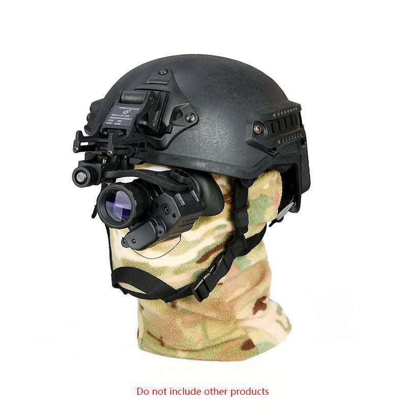 2019 PVS14 militare tattico Portata di Visione Notturna con 28mm Obiettivo di Visione Notturna Occhiali di Protezione Ottica 33x224 LCD NV ambito di Caccia Gear