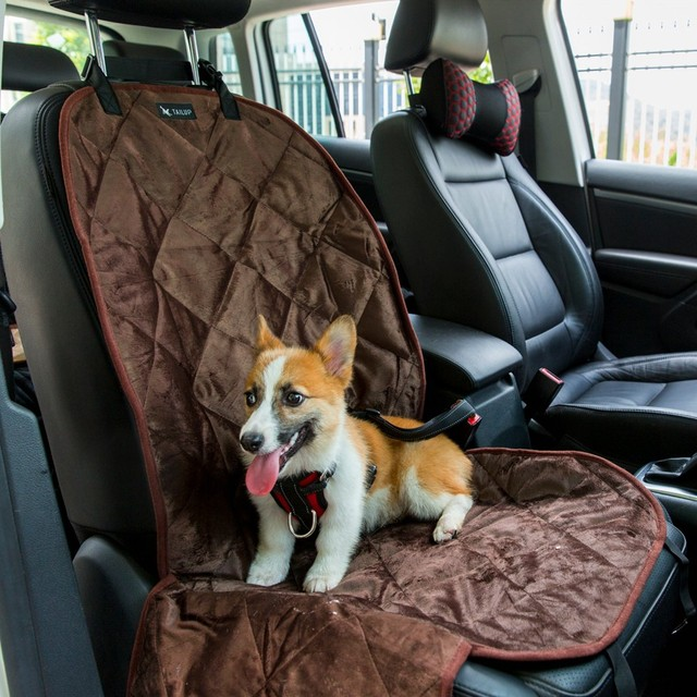 Waterproof Car One Seat Cover For Pet Dog Car Seat Cover Two Color  Selection Pet Accessories