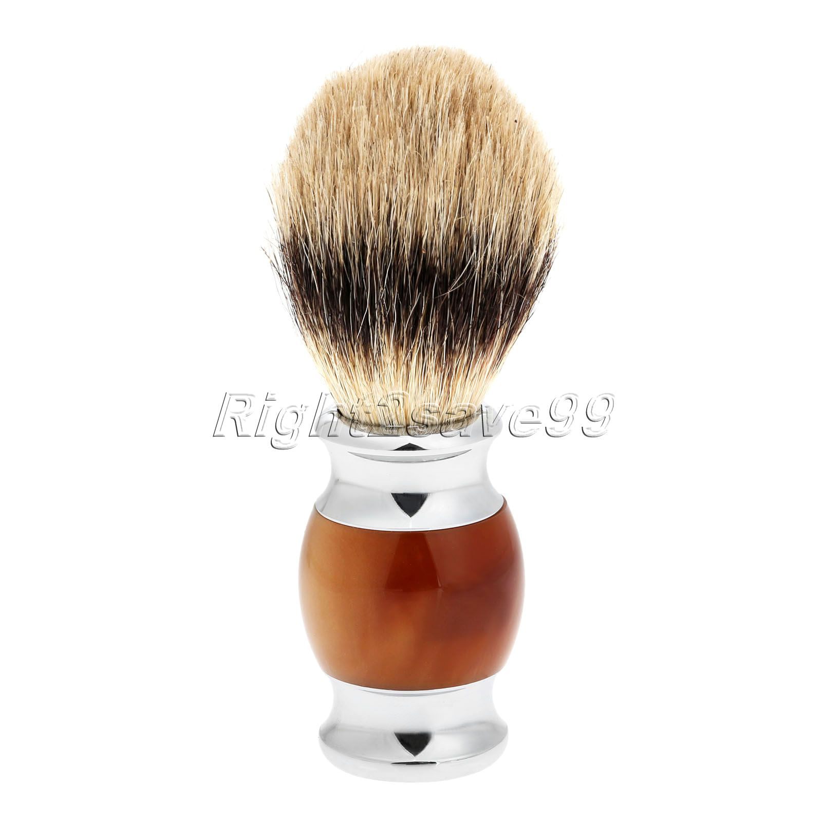 2017 High Quality Pure Badger Hair Shaving Brush Resin Handle Barber Salon Men Facial Beard Brush Pincel Shave Tool Beauty Tool