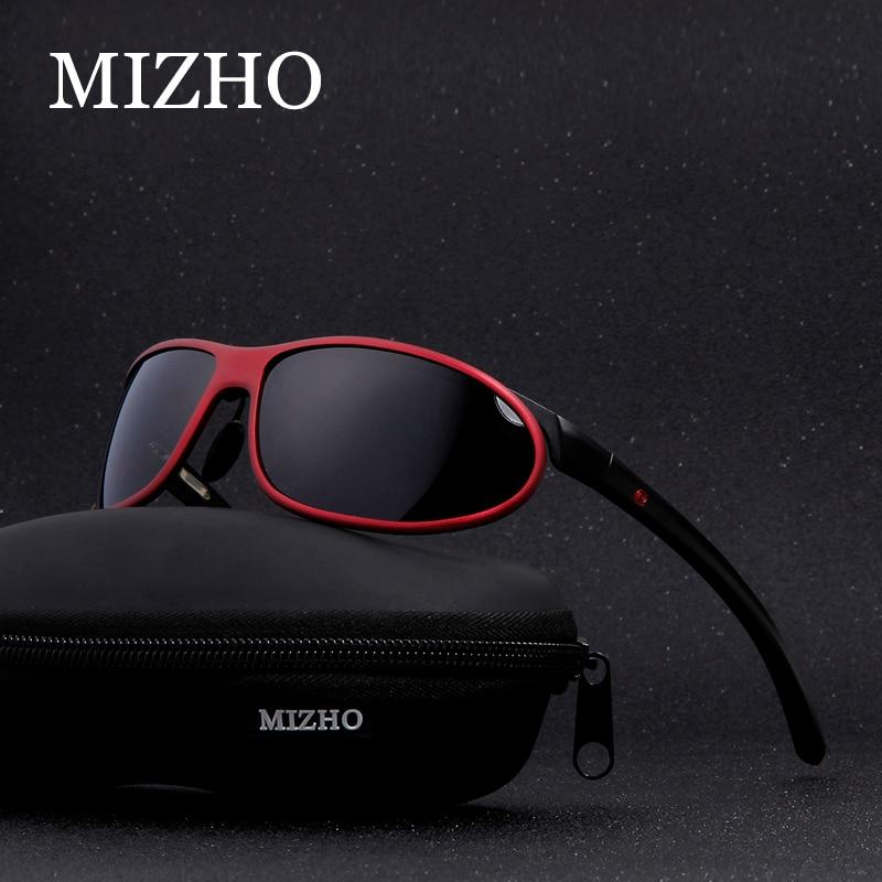 MIZHO Anti reflexo Claro Motoristas de Carro de Neve Feminina De Óculos de sol  Polaroid UV400 Noite Senhoras Óculos De Sol Dos Homens Polarizados  Envoltório ... c1abc0aaee