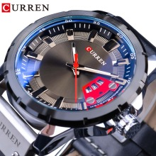 CURREN 2018 Military Fashion Blue Glass Luminous Hands Calendar Display Waterproof Men Sport Quartz Wrist Watch Top Brand Luxury все цены