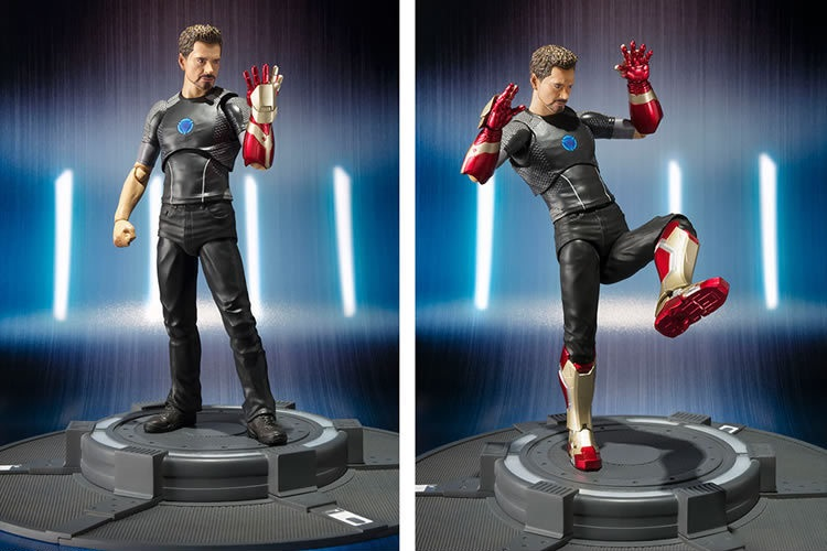 17CM pvc anime figure The Avengers Iron Man adjustable movable joint multi posture action figure collectible model toys for boy 30cm anime figure the avenger iron man red action figure collectible model toys for boys