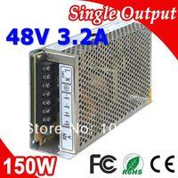 S-150-48 LED Trafo Anahtarlama Güç Kaynağı 150 W 48 V DC 3.2A Çıkış