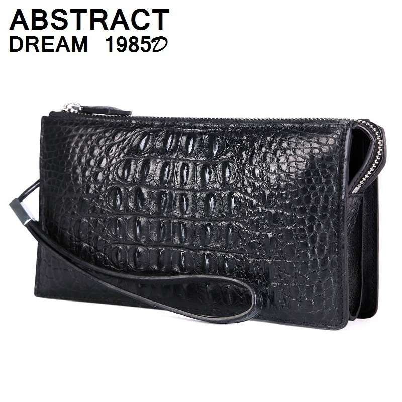 men bags Alligator Body Classic clutch men's Fashion bag new quality luxury Business real leather wallets designer Day Clutches