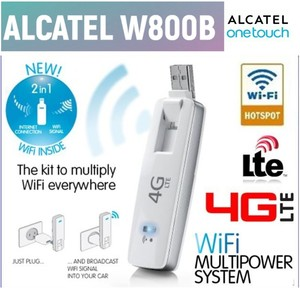 Original Unlock LTE FDD 100Mbs Alcatel One Touch W800b 4G WiFi Sim Card Modems