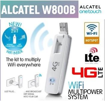 Original Unlock LTE FDD 100Mbs Alcatel One Touch W800b 4G WiFi Sim Card Modems