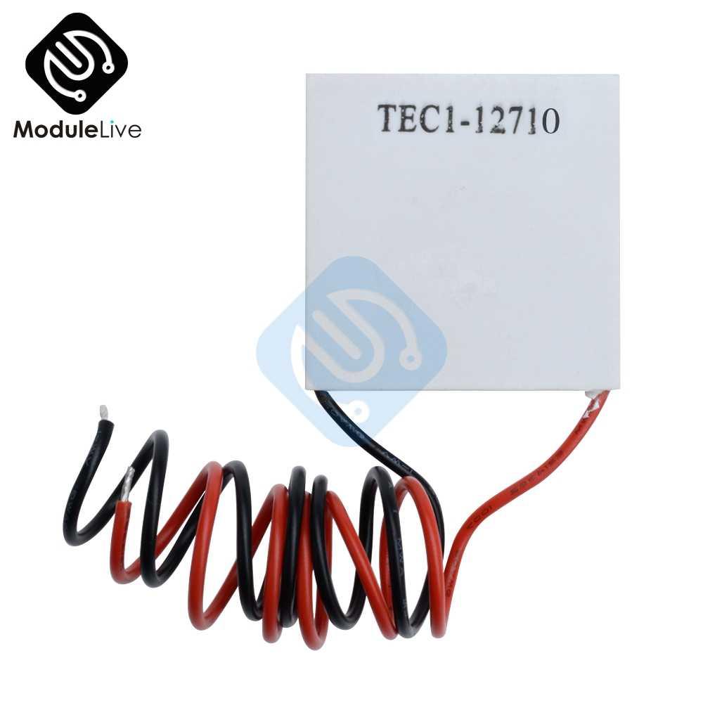 NEW TEC1-12710 Heatsink Thermoelectric Cooler Cooling Peltier Plate Module