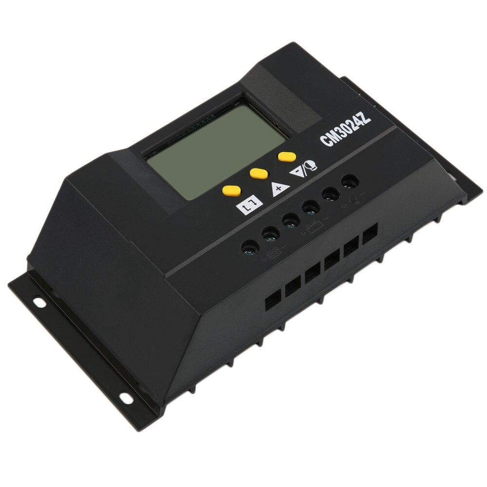 все цены на  Hot Selling! 2pcs Solar Regulator 30A 12/24V Solar Charge Controller PWM LCD Display free shipping  онлайн