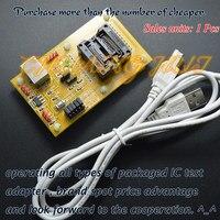 IC Erkennen STM8-SOP20 trägerplatte 300mil SOIC20 STM8L STM8A STM8S Download sitz test sockel Programmer adapter