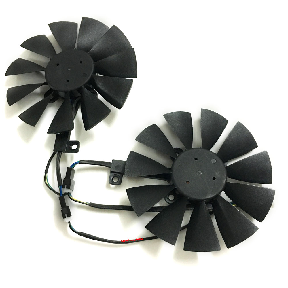 Computer VGA gpu cooler graphics card 85mm fan t129215su for ASUS ROG STRIX Video cards cooling