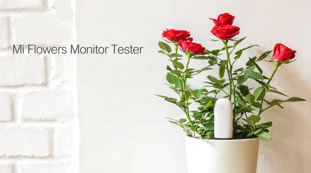 Original Xiaomi Mi Flora Monitor Flowers Grass Care Soil Water Light Smart Tester Digital Sensor For Garden Plant  (1)