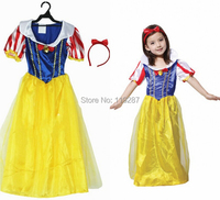 Free Shipping Fashion Kids Halloween Costumes And Hat For Kids Girls Hardcover Children Suit Gauze Halloween