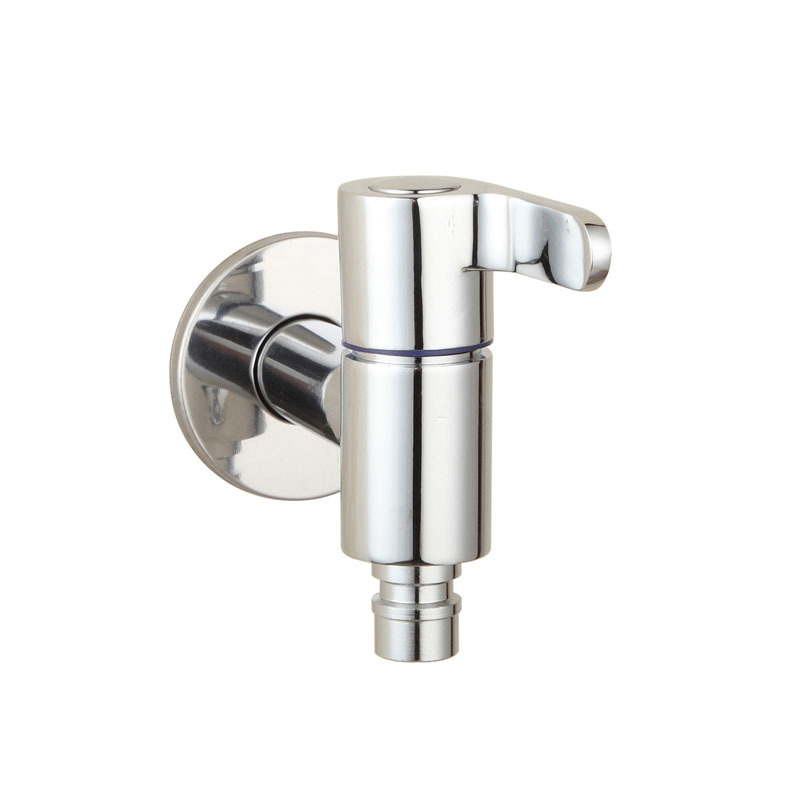 Brass Chrome Laundry Bathroom Wetroom Washing Machine Faucet Wall ...