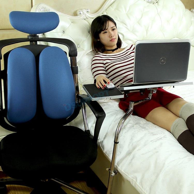 Ok030 multifuncional cheio movimento cadeira de aperto suporte do teclado portátil mesa titular mouse pad para confortável escritório andgame