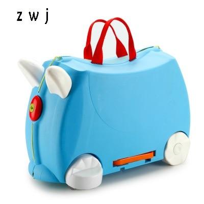 Kinder roller koffer PP motorrad form trolley gepäcktasche für 2 12 jahre alte kinder-in Rollgepäck aus Gepäck & Taschen bei  Gruppe 1