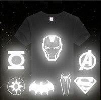 [XHTWCY] New 2019 Fashion Men Women Clothing Plus Size T Shirt Spiderman Superman Venom Captain Iron Man T Shirt Tops