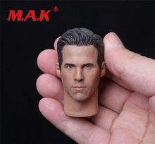 New 1:6 Scale Ryan Reynolds Deadpool PVC Head Sculpt fit 12 Action Figure for Collection as Gift цена