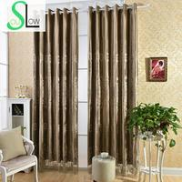 Coffee Curtains For Living Room Italy Velvet Shade Curtain Laser Embroidered Floral Europe Voile Kitchen Luxury