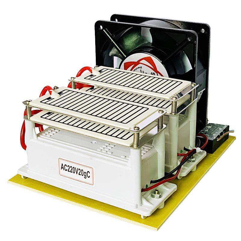 Lucht Ozon Generator 220 V 20g Metalen Plastic Ozon Desinfectie Machine Auto Luchtfilter Luchtreiniger Ventilator Voor Thuis Auto steriliseren-in Luchtzuiveraars van Huishoudelijk Apparatuur op  Groep 1