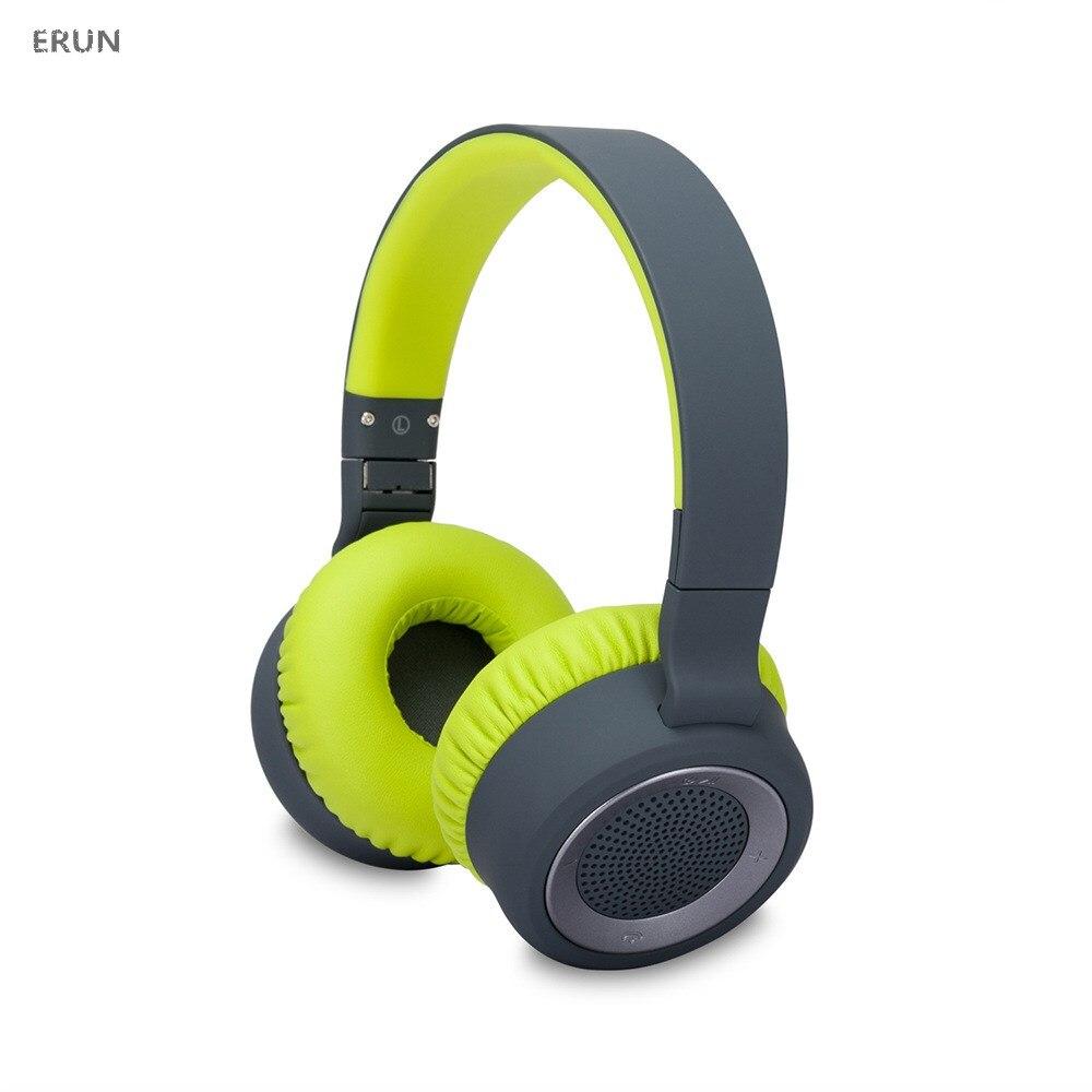 Casque d'écoute bluetooth monté sur la tête casque d'écoute sans fil de luxe