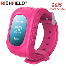Q50 Smartwatch Kids GPS Horloge Smart Kinderen Baby Telefoon Horloges SOS Tracker Antil verloren Finder Locatie Locator 2G SIM PK Q90 Q02