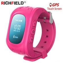 купить Q50 Smartwatch Kids GPS Watch Smart Children Baby Phone Watches SOS Tracker Antil-lost Finder Location Locator 2G SIM PK Q90 Q02 онлайн