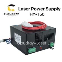Cloudray 50 Вт CO2 лазерной Питание для CO2 лазерная гравировка Резка машины HY-T50