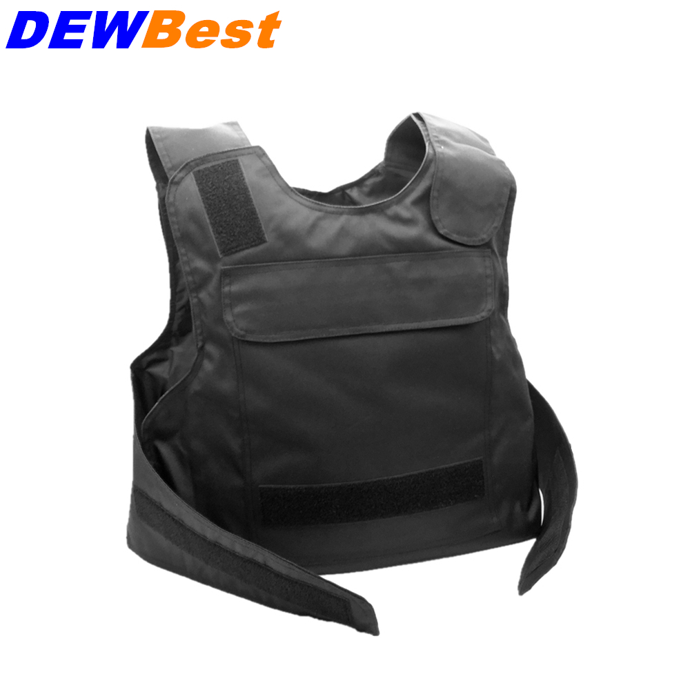 DEWBest Brand 100% bulletproof plate level IIA tactical vest safety clothing