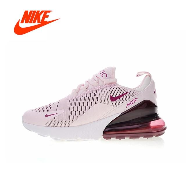 19d277fdef0 Nova Chegada Original Autêntico Nike Air Max 270 Mulheres Tênis Sapatilhas  Sapatos de Desporto Ao Ar