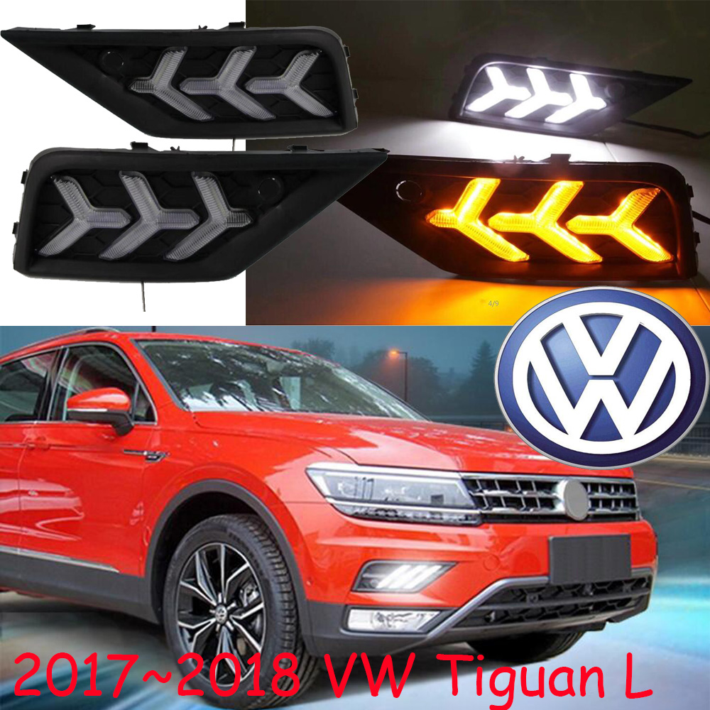 LED,2017~2018 Tiguan day Light,Tiguan fog light,Tiguan headlight,sharan,Golf7,routan,polo,passat,Tiguan Taillight,Tiguan L tiguan taillight 2017 2018year led free ship ouareg sharan golf7 routan saveiro polo passat magotan jetta vento tiguan rear lamp