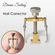 Ingrown tonails 페디큐어 발 네일 케어 도구 파일 피트 용 orthotic acronyx ingrowing nail onyxis bunion corrector for toes(China)