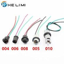 Фотография T10 W5W 168 194 Light Instrument LED SMD Bulb Extension Connector Socket 10pcs/lot