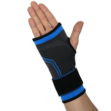 1 PC Elastic Sports Wrist Support Adjustable Wristband Brace Compression Sleeve Guard Hand Palm Wraps Bandage Glove