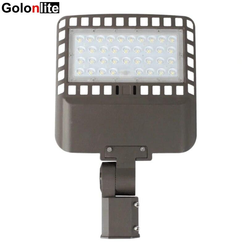 Arm Mount Area Flood Light 300W Ultra Bright LED Parking Lot Light Photocell