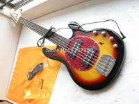 Factory custom shop 2017 Newest Musicman Music Man Sting Ray 5 Strings Sunburst Electric Bass Guitar 7 6