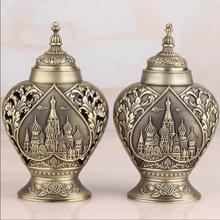 Античный металлический держатель для зубочисток из цинкового сплава, органайзер, посуда, украшение для дома YQT013
