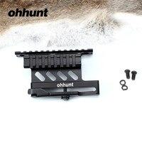 AK ohhunt Tactical QD Serii Dwustronnie Do Montażu Na Szynie Podstawa Szybkie Detach Standardowy Zakres Sight Picatinny Weaver Rail Mocowania