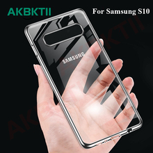 AKBKTII For Samsung Galaxy S10+ Case M20 note 9 A9 2018 Soft Silicone Back Cover S8 S9 Phone