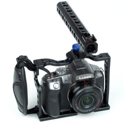 Professional Cage Rig For Panasonic DMC G6 G5 DV Camera Video Film механический мод rig v3 черный клон