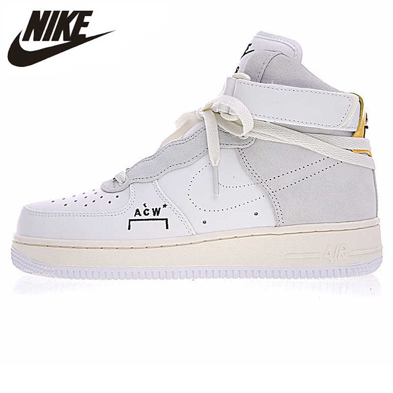 4ed3272d Nike Air Force 1 A Cold Wall AF1 ACW совместных Для мужчин скейтборд обувь,  оригинальная
