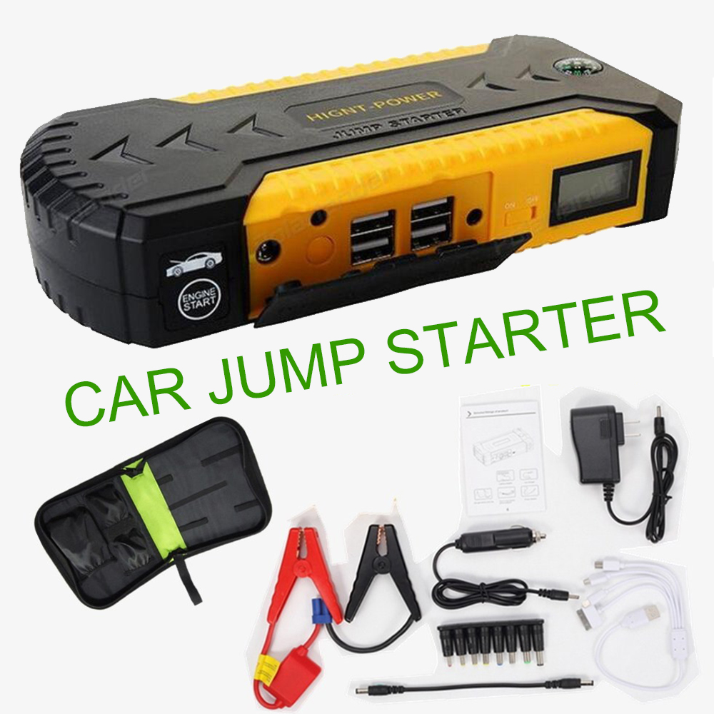 все цены на car jump starter power bank 12v emergency car battery booster Multi-function car starter start hot sell онлайн