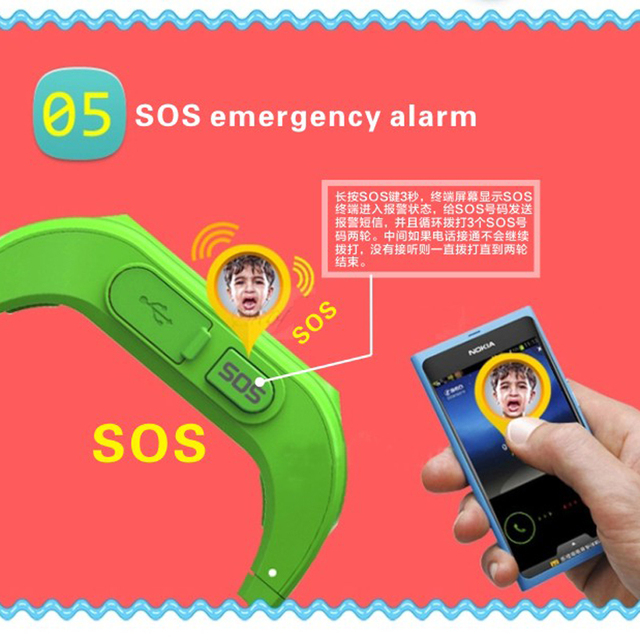 Newest Q50 Kids Smart Wristwatch Kid Safe GPS Track Smart Watch SOS Call Location Finder Locator Tracker Baby Anti Lost Monitor 5