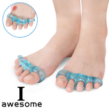 1 pairs Orthotic insole Toe Separator Insoles Straightener Pad Foot Holder