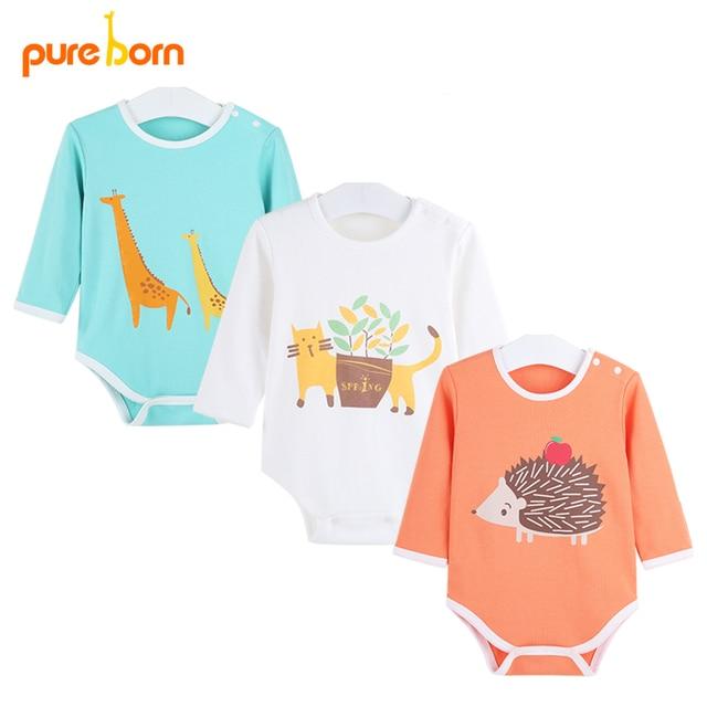 12b3e732a Baby Bodysuits Animal Designs Newborn Onesie Baby Brand Clothing ...